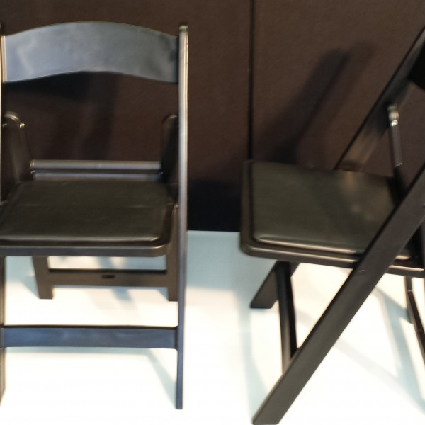 Black Americana Folding Chair For Event