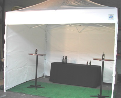 3m x 3m Easy Up Tent