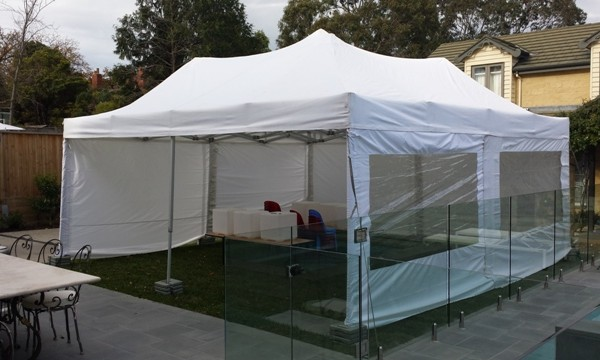 6.m x 6m Marquee in Hawthorn.