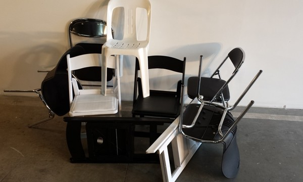 Chairs Folding and Stacking, Resized